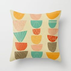 Pillow Cover: Stacks/ Monica Gifford | Society 6