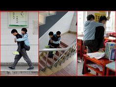 El valor de la amistad: el joven Zhang Chi padece distrofia muscular, pero gracias a Xie Xu no se ha perdido una sola clase
