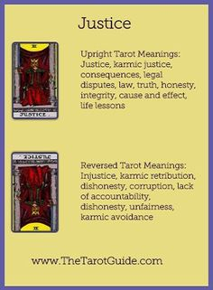 Image result for Justice tarot card