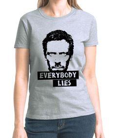 Blusa Feminina Everybody Lies - Oba! Shop - camisetas, babylooks, acessórios, música e arte