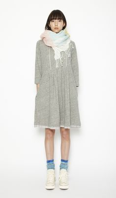 if a sweatshirt and a smock dress got together ...