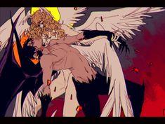 Devilman Crybaby - Devilman and Satan Devilman Crybaby, Akira, Diablo Anime, Manga Anime, Anime Art, Character Art, Character Design, Anime Devil, Crying Man