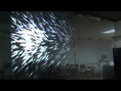 Interactive Projection Effects for Window Display - by DK Media - YouTube