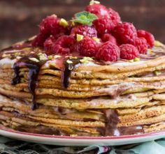 Recept Palačinky Waffles, Pancakes, Pancake Day, Benefit, Breakfast, Sweet, Nature Architecture, Food, Paradis