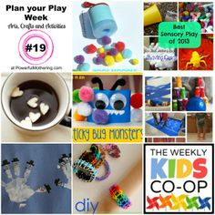 Plan your Play Week with Arts, Crafts and Activities #19