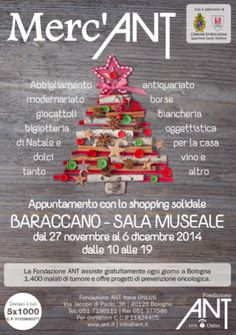 27 novembre al 6 dicembre Merc'ANT al Baraccano