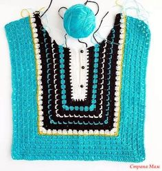Crochet & Knitting Patterns by Natalia Kononova for your Outstanding Stitches. Crochet & Knitting Patterns by Natalia Kononova for your Outstanding Stitches. How to Crochet a Little Black Crochet Dress - Crochet Ideas This Pin was discovered by Ани New Crochet Coat, Crochet Shirt, Crochet Jacket, Crochet Cardigan, Crochet Clothes, Crochet Vests, Crochet Dresses, Mode Crochet, Diy Crochet