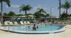 The pool at Laurel Estates in Fort Myers, Fla.  My sister & I had some of our best times in that water <3