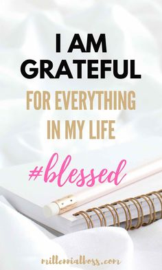 Life Quotes : Gratitude for women I affirmations gratitude… Affirmations For Women, Money Affirmations, Christian Affirmations, Prosperity Affirmations, Practice Gratitude, Attitude Of Gratitude, Gratitude Quotes Thankful, Gratitude Ideas, Positive Mindset