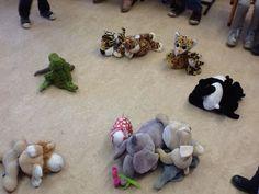 * Dierentuindieren in de kring - classificeren Nodig: dierentuindieren (kunsstof of knuffels) en hoepels Crafts, Madagascar, Africa, Crocodile, Manualidades, Handmade Crafts, Craft, Arts And Crafts, Artesanato