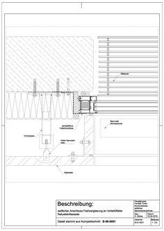 B-01-0021 Anschluss Festverglasung an hinterlüfteter Nautursteinfassade