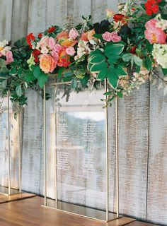 A gorgeous floral seating chart for the guests at Pippin Hill Farm & Vineyards in Charlottesville, Va Pippin Hill Wedding, North Garden, Laura Gordon, Cloud Cake, Virginia Wineries, Traditional Indian Wedding, Blue Ridge Mountains, Seating Charts, Bride Bouquets