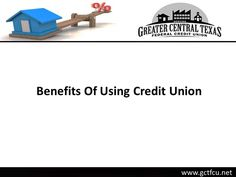Greater Central Texas Federal Credit Union offers cheap and secured home loans in Killeen TX. With the credit union, you can get loan at low interest rate, get qualified for loan with low income and get higher rates of return on savings account. For details on home loans in Killeen TX, visit : http://www.gctfcu.net