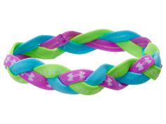 Under Armour 5-Braid Mini Headband (Big Kid) Exotic Bloom/Cruise/Hyper Green - Zappos.com Free Shipping BOTH Ways