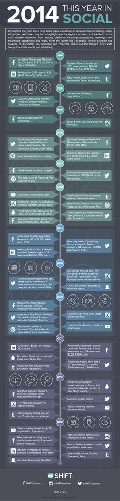 year 2014 in social media advertising (2014)