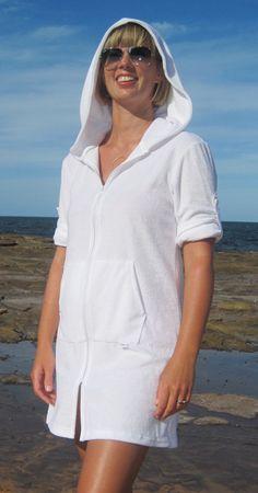{Shopping Spectacular} Chillibeach Designs Towelling hoodie #beachwear #summer #c2mspectacular