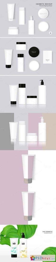 Cosmetic Packaging PSD MockUp 774032