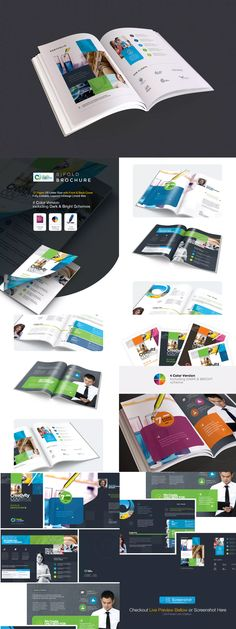 Creative Bifold Brochure Template InDesign INDD - US Letter Size