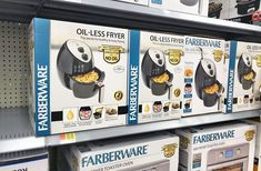 The Walmart Black Friday ad has dropped, and they've decided to make several deals available to you right now. Score a Walmart-exclusive Farberware Digital. Oil Less Fryer, No Oil Fryer, Black Friday Deals, Cool Things To Buy, Christmas Gifts, Walmart, Baby Shower, Coupon Lady, Shower Ideas