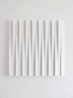 Sander Martijn Jonker, abstract white monochrome relief, 61 x 61 cm Facade Design, Wall Design, Deco Paint, Origami Architecture, Paper Engineering, Acoustic Panels, Paper Folding, Hanging Pictures, Fireplace Design