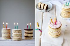 5 fun layered cake ideas every baker should try Birthday Candles, Cake Recipes, Baking, Naked, Google Search, Kitchen, Image, Cream Pie, Bakken