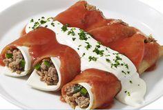 Para la hora de comer prepara unas deliciosas Enjitomatadas poblanas con esta receta Philadelphia. ¡Tus platillos de ricos a deliciosos!
