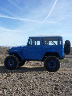 Blue FJ40 -
