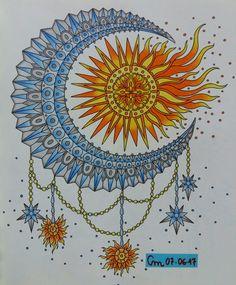 Do livro Magical Dawn #hannakarlzon #magicaldawn #magicaldawncoloringbook #magiskgryning #divasdasartes #desenhoscolorir #coloring #coloringbookforadults #coloriage