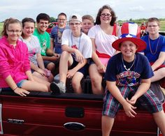 Fourth of July Parade Volunteers 2013
