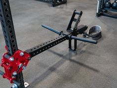 The JˣSquat™ Low Bridge Package includes Low Bridge JˣSquat Anchor Bar, Single Jammer Arm (no handle), and JˣSquat w/ Belt Squat Belt + Speed Hook. Add on to your Low Bridge to maximize space in your facility. Commercial Fitness Equipment, Outdoor Fitness Equipment, No Equipment Workout, Diy Home Gym, Gym Room At Home, Living Room Workout, Total Gym Workouts, Squat Machine, Gym Accessories