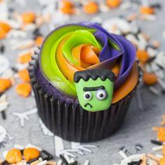 ¡Cupcakes terroríficos para Halloween!