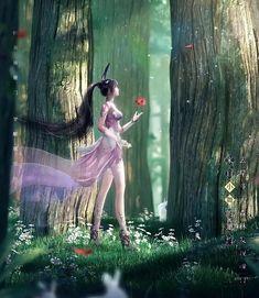 Anime Cat Boy, Anime Angel Girl, Anime Art Girl, Manga Art, Anime Soul, Anime Art Fantasy, Anime Love Couple, Cool Animations, Beautiful Anime Girl