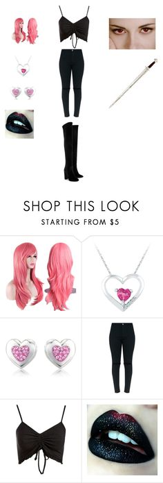 """""""Cassidy"""" by bearpooh-1 on Polyvore featuring Precious Moments, Topshop and Aquazzura"""