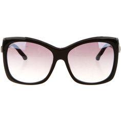 Pre-owned Swarovski Crystal-Embellished Esmeralda Sunglasses (149,350 KRW) ❤ liked on Polyvore featuring accessories, eyewear, sunglasses, black, swarovski crystal eyewear, swarovski glasses, swarovski crystal sunglasses, swarovski crystal glasses and embellished sunglasses