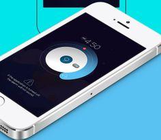 Mobile App Design Inspiration – Alarm Concept