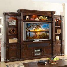Legends Furniture Berkshire Premium Entertainment Center - LEG351, Durable