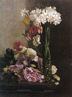 Frédéric Bazille - Fleurs