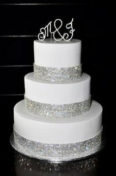 Iniciales Letras Diamante Para Decoracion De Pastel - $ 150.00 en MercadoLibre