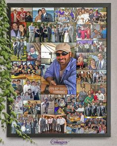 What says brotherly love better then putting all your brothers fun family pictures together for his birthday party! Forty Birthday, 40th Birthday Parties, Birthday Ideas, Surprise Birthday Gifts, Unique Birthday Gifts, Picture Gifts, Photo Gifts, Birthday Photo Collage, 50 And Fabulous