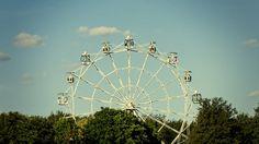 観覧車, 楽しい, 若者, 喜び, 幸福, ホイール, 公園