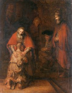Rembrandt Harmensz. van Rijn - The Return of the Prodigal Son - Rembrandt - Wikipedia, la enciclopedia libre