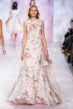 Georges Chakra Couture, Spring 2017 - Georges Chakra Couture, Spring 2017 – Couture's Most Beautiful Spring 2017 Runway Gowns – Liv - Style Couture, Couture Mode, Couture Fashion, Runway Fashion, Georges Chakra, Fashion Week, Fashion Show, Fashion Looks, Beautiful Gowns