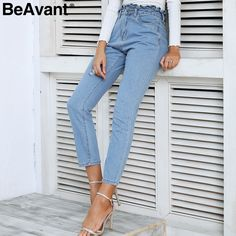 Jeans Pants Man Woman Vitamin Blue Deluxe Basic Stretch Pu27