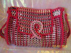 la bolsa de fichas pop rosa con bolsillo lateral por PoptabsPurses