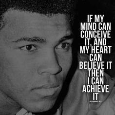 The Greatest Muhammad Ali Quotes - Quotes Of A Champion! Picture Poster Quotes from Muhammad Ali Inspirational Speeches and words from the champion himself Wisdom Quotes, Quotes To Live By, Me Quotes, Motivational Quotes, Music Quotes, Qoutes, Citation Mohamed Ali, Islamic Quotes, Citations Sport