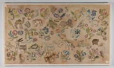 Panel, the first half of the 17th century, English, The Metropolitan Museum of Art
