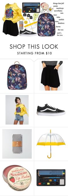 """""""cool"""" by tasnim-ali ❤ liked on Polyvore featuring Vince Camuto, ASOS, Topshop, American Eagle Outfitters, Prada, vans and simpleset"""
