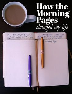 Morning Pages are an amazing tool for boosting creativity and clarity in your life, you'll regret not giving it a try!The Morning Pages are an amazing tool for boosting creativity and clarity in your life, you'll regret not giving it a try! The Artist's Way, Morning Pages, Boost Creativity, Miracle Morning, Journal Prompts, Journal Ideas, How To Journal, Daily Journal, Junk Journal