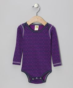 Take a look at this Amethyst Diamond Organic Bodysuit - Infant by Kiwi Industries on #zulily today!