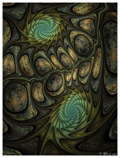 30 Stunning Fractal Designs and Illustration Riven by = IDeviant